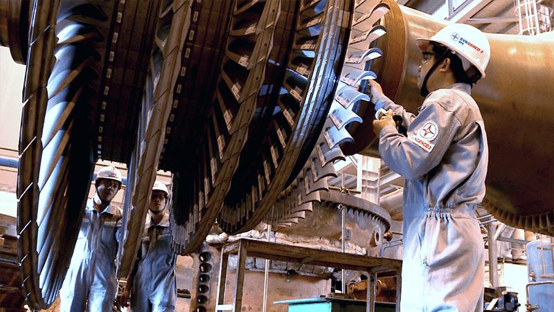Bảo trì turbine khí, turbine hơi - Nhà máy nhiệt điện